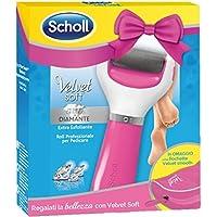 Scholl Velvet Soft Special Pack Roll Piedi + Pochette Omaggio, Pedicure Professionale, Rosa