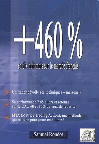 +460% en dix huit mois sur le marché français (CAC 40) par Samuel Rondot