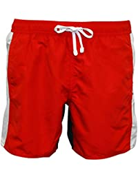 Emporio Armani EA7 Men's Shorts Swimsuit Bathing Trunks Swimming Suit red