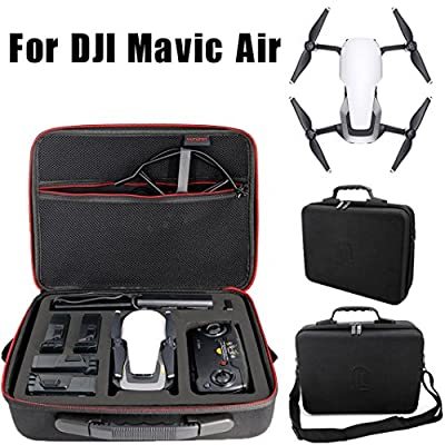 Shoulder Bag for DJI Mavic Air Drone,Y56 Outdoor Waterproof Shockproof Shoulder Bag Case Handheld Hard Suitcase Protector For DJI Mavic Air Drone Includes Shoulder Strap