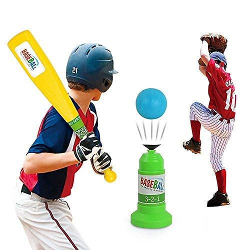 Vjoy - Zapatillas de Béisbol para Niños, Ajustables y automáticas para  Entrenar en el Equipo de Entrenamiento Físico, Béisbol, Juguetes