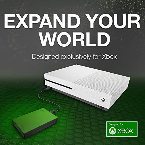 """Seagate 4 TB Game Drive pour Xbox, Disque dur externe 2,5"""" Portable pour Xbox One et Xbox 360 (STEA4000402)"""