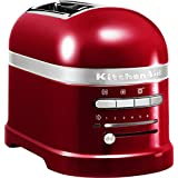 KitchenAid 5KMT2204ECA - Tostadora,1250 W, color rojo