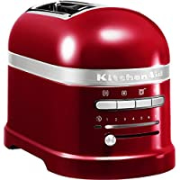 KitchenAid 5KMT2204ECA - Tostadora,1250 W, color rojo, 220-240 V,