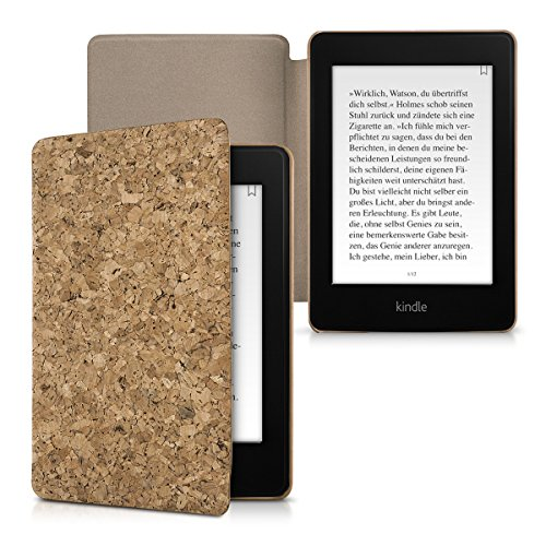kwmobile-funda-flip-de-corcho-para-amazon-kindle-paperwhite-funda-plegable-en-marron-claro