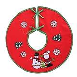 YouN Hauptweihnachtsdekoration-Weihnachtsbaum-Rock-Dekoration-Decke im Freien
