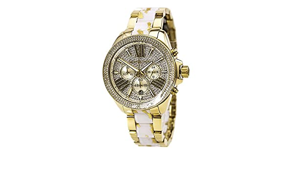 Buy Michael Kors Kello Analogue Champagne Dial Women s Watch - MK6157  Online at Low Prices in India - Amazon.in 16de38437c