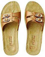 FLITE Women's Multicolour Flip-Flops- 6 UK/India (39.33 EU) (PUL068L)