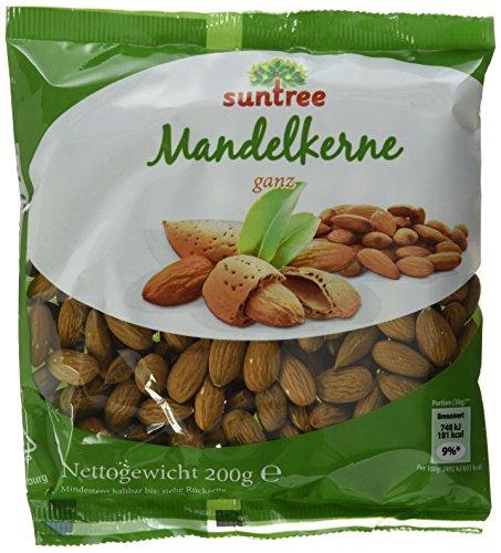 Selection Mandeln ganz, 25er Pack (25 x 200 g Beutel)