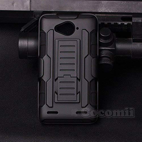 Cocomii Robot Armor ZTE Blade L3 Plus Funda [Robusto] Superior Funda Clip  para Cinturón Soporte Antichoque Caja [Militar Defensor] Cuerpo Completo