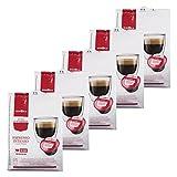 Gimoka Puro Aroma Espresso Intenso, Capsule Compatibili con Nescafè Dolce Gusto, 80 Pezzi