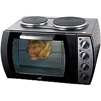 Mia TO 2311N Kleinküche mit Drehspieß, Kochen-backen-grillen in einem, 2930 W, schwarz
