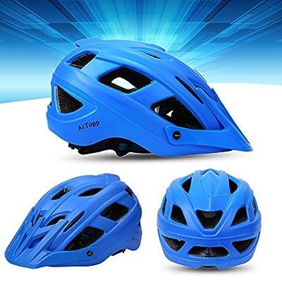 AcTopp Bike Motorbike Motorcycle Cycling Helmet Women Mens Road Anticollision Safe Lightweight Comfortable Adjustable Mountain Bike Helmet by AcTopp