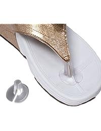 5 Pairs Silicona Almohadillas de Sandalias ,TININNA Thong Toe Protectors Suave Del Gel Del Palillo