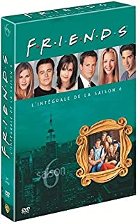 Friends - L'intégrale Saison 6 - Coffret 3 DVD (B000EHQSNW) | Amazon price tracker / tracking, Amazon price history charts, Amazon price watches, Amazon price drop alerts