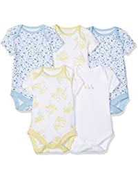 Mothercare Girls 5pk Ss Pretty Geese Bodysuit, Body Bébé Fille