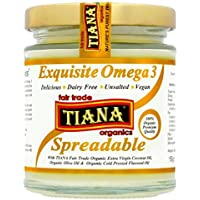 TIANA 150ml Orgánica Omega 3 para untar mantequilla de coco