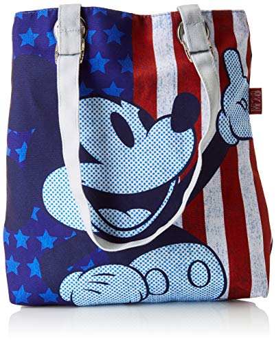 Mickey Mouse 2018 Sac de Plage, 23 cm, Multicolore (Multicolor)