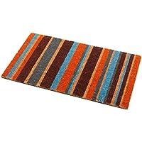 Addis Stripe zerbino con colore a righe in 100% fibra di cocco naturale–70x 40cm, multi - Trova i prezzi più bassi