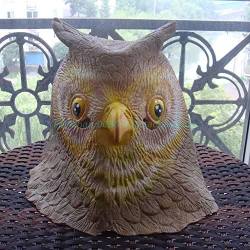 youjiu Dekoration .Pferdekopfmaske Haube Tier Lustige Maske @ Owl (Senden Sie Eine Sonnenbrille)