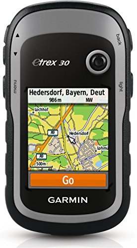 Garmin Etrex 30 - GPS portátil (pantalla 2.2', mapa base mundial), color negro