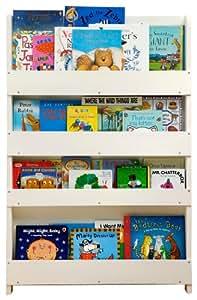 tidy books bc wnl libreria per bambini in legno bianco 115x77x7cm prima infanzia. Black Bedroom Furniture Sets. Home Design Ideas