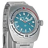 Vostok Buceador de anfibios Dude azul Rusia reloj WR 200 M 1967