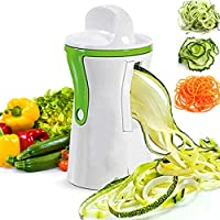 SDGDFXCHN Multi función frutas vegetales pasta fideos Chopper cocina gadget espiral Slicer