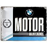 Nostalgic-Art 23228 BMW - Motor   Retro Blechschild   Vintage-Schild   Wand-Dekoration   Metall   30x40 cm