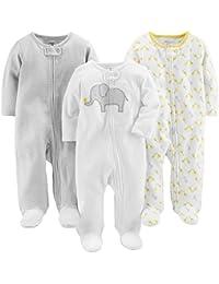 Simple Joys by Carter's - Tutina - Confezione da 3 pezzi per dormire e giocare. - Bebè maschietto
