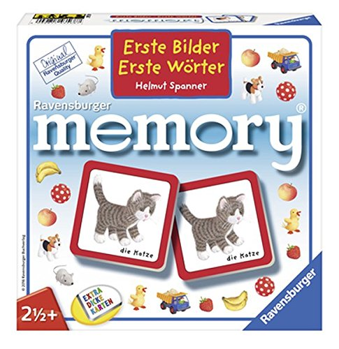"""Ravensburger 43568 """"Erste Bilder - Erste Wörter memory"""" Kinderspiel"""