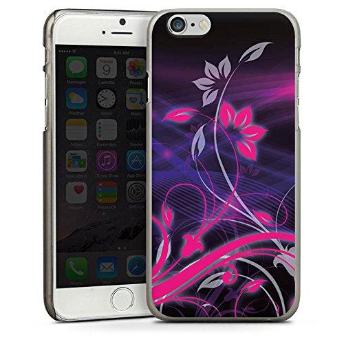 Apple iPhone 5 Housse Outdoor Étui militaire Coque Fleurs Fleurs Ornements CasDur anthracite clair