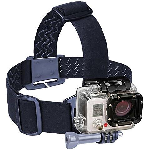 Cinta Cabeza Accesorio GoPro SJ4000 + Montura para GoPro o similares + Adaptador Tripode - GoPro HERO 4 3+ 3 2 SJ4000 SJ5000 WIFI – Por USA GEAR