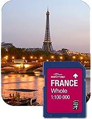 Satmap GPS System Karte 1:100000 Frankreich Gesamt, FR-CY-100-SD-001