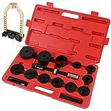 Timbertech Kit attrezzi per cuscinetto della ruota in acciaio al carbonio con custodia 53/30,5/8 cm