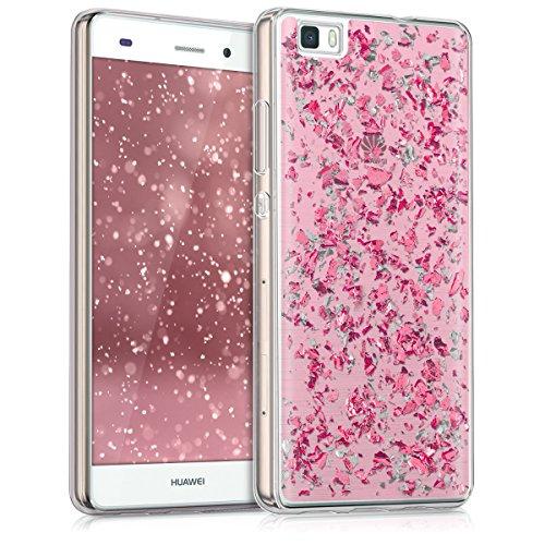 kwmobile-custodia-tpu-silicone-crystal-per-huawei-p8-lite-colore-rosa-argento-trasparente-design-fio