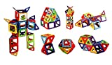 Toyshine 24 Pcs, Magnetic Blocks Puzzle Game, Creative Learning Toy