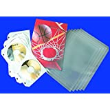 "PRO-LINE Archival Polypropylene Sleeving Super B, 13 x 19"", Clear-Sealed Flap, 100/PK"