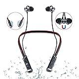 Best Noise Cancelling Auricolari Bluetooth - Aurtec Bluetooth sport cuffie auricolari stereo Sweatproof magnetico Review