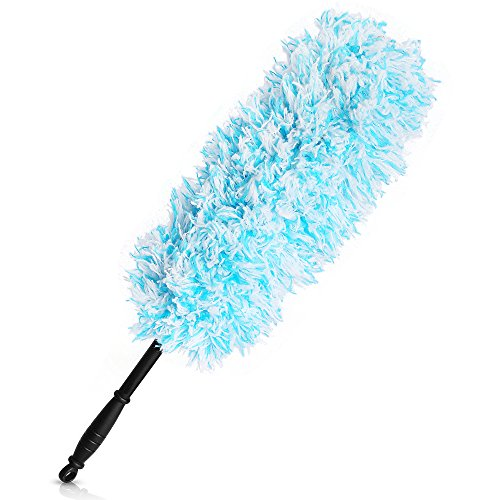 MICROFIBRE CLEANING DUSTER BENDABLE FEATHER HAND WASHABLE DUST DIRT WASH  CLOTH Evelyn Living®