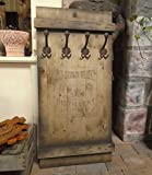OLD DUBLIN WHISKY SHABBY FRACHTKISTE WANDGARDEROBE GARDEROBE VINTAGE RETRO (braun)