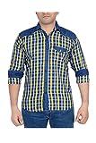 High Hill Men's Casual shirt (YEL155_Yel...