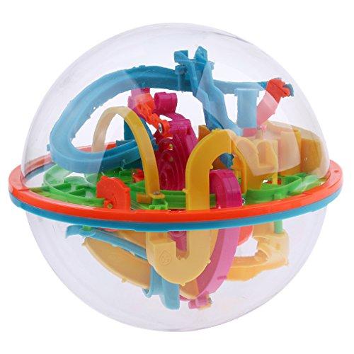 Baoblaze 3D Kugellabyrinth Kugelspiel Kugel-Labyrinth Geschicklichkeitsspiel Spielzeug, 9 Tpyen - #9