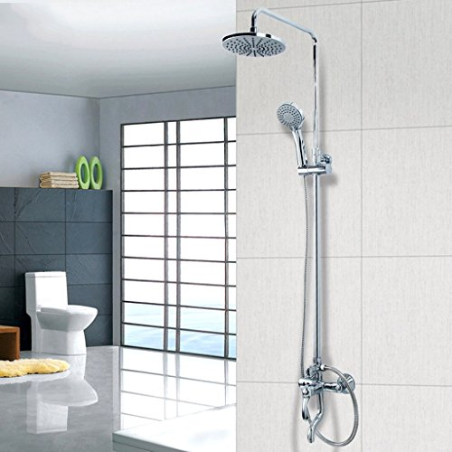 PIGE Dusche Dusche Set Dusche Dusche Pressurized Top-Bürsten-Hahn-Dusche-Hahn-Dusche-Kopf (Ultra-hochdruck-dusche-kopf)