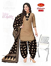 Baalar Patiala Cotton Dress Material