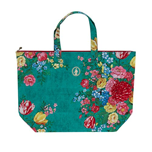 PiP Studio Beach Bag Dutch Painters Green 68x21x46cm (Beach Bag Green)