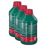 3x Febi Bilstein 06161 Zentralhydrauliköl 1 L Für Die Zentralhydraulik Servolenkung Und Niveauregulierung Central Hydraulic Grün Oil