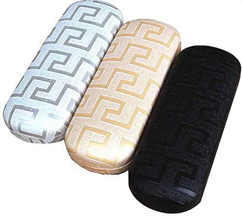 Yetta Home 1 stück Hohe Qualität Labyrinth Brillenetui Harte Brillenetuis für Frauen Leder Brillen Box Männer Brillenetui Geburtstagsgeschenk für Jungen (zufällige Farbe) -