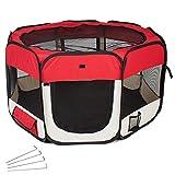 TecTake Tenda box per cagnolini cuccioli e piccoli animali -...