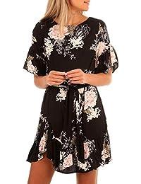 2ec44bb457503 DAY8 Robe Femme 2018 Robe Femme Chic Soirée Courte Sexy Mariage Robe Femme  Grande Taille Boheme Robe Vintage Cocktail Robe de…